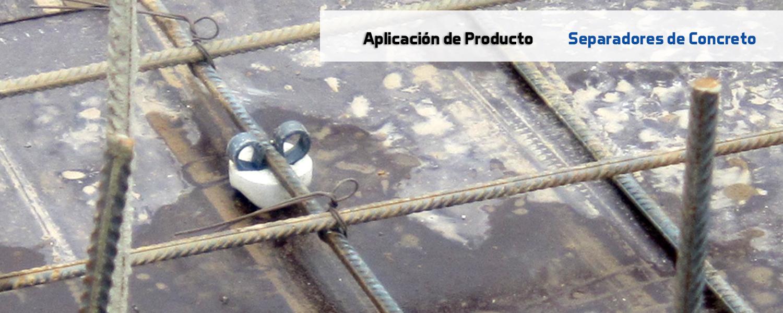 separadores de concreto